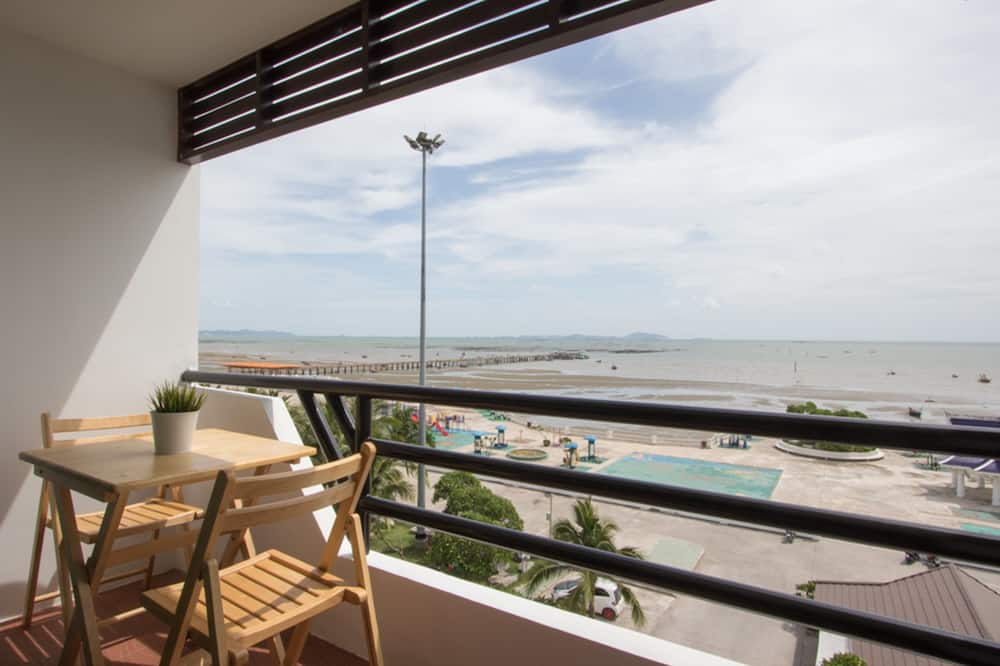 Deluxe Double Room with Sea View  - Balkon