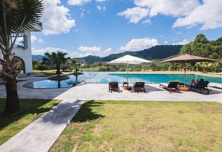 Katathong Golf Resort & Spa, Phang Nga, The Valley Superior Pool View, Ausblick vom Zimmer