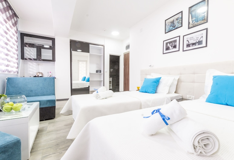 Astera Apart Hotel, Skopje, Studio Apartment with Balcony, Zimmer