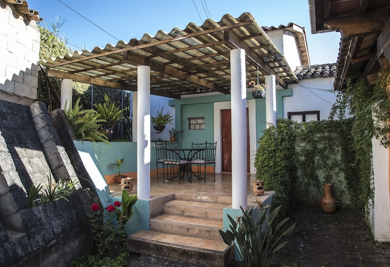 Hotel Camino de Santiago, Antigua Guatemala, Terrasse/Patio