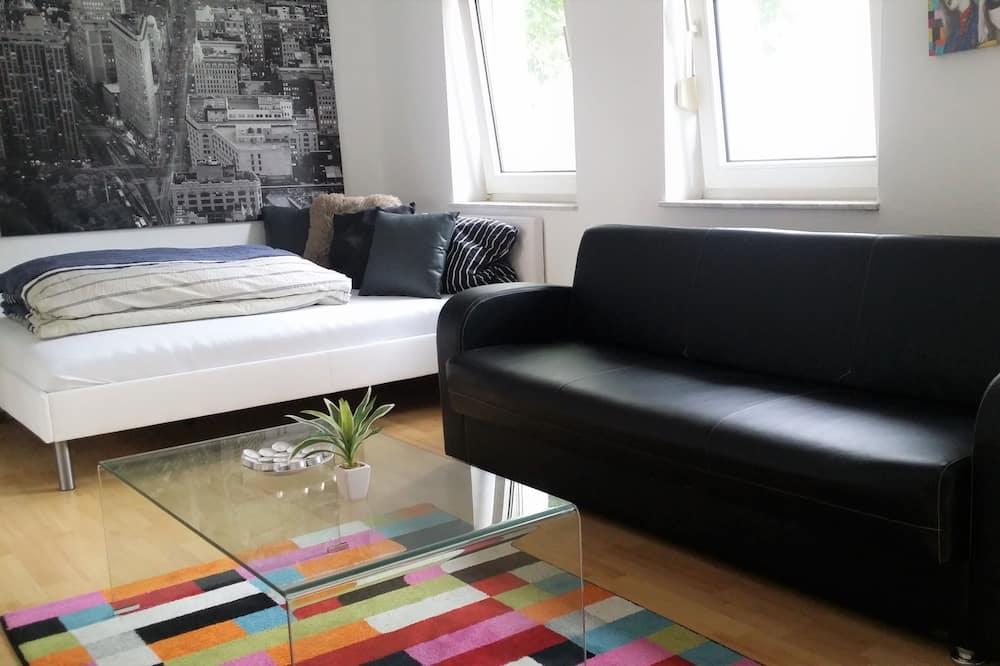時尚公寓客房, 2 間臥室, 非吸煙房, 廚房 - 客廳