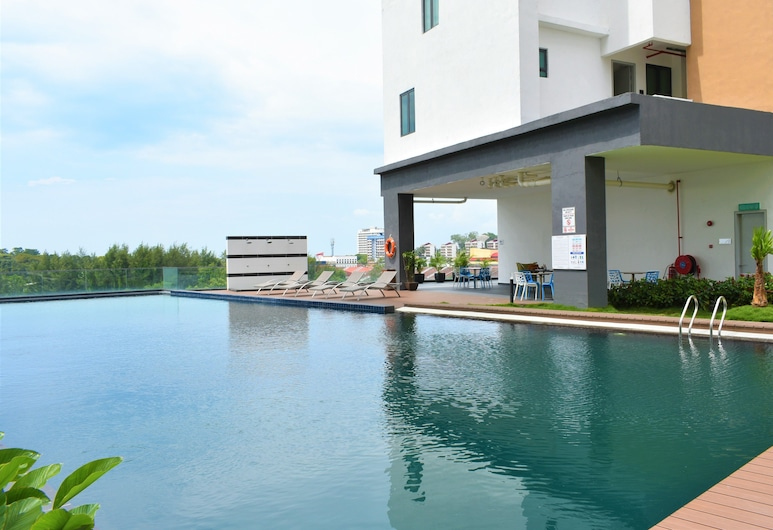 D'Wharf Hotel & Serviced Residence, Port Dickson, Außenpool