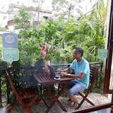 Kamar Keluarga, pemandangan kebun - Balkon