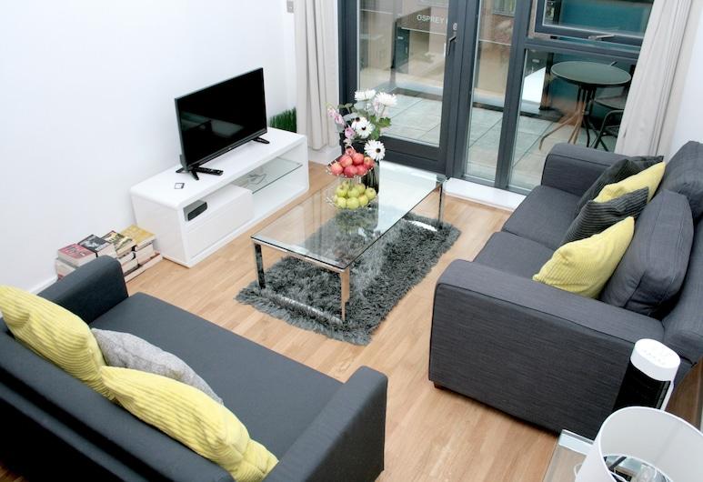 Logic Apartments Greenwich, London, Apartment, 2Schlafzimmer, 2 Bäder, Wohnbereich