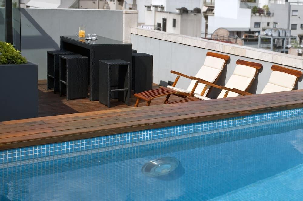 高級公寓 - 天台泳池