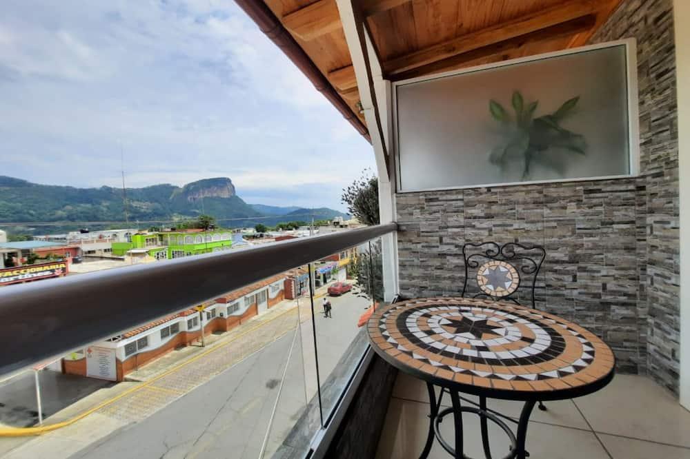 Prezidentský apartmán, balkón - Balkón