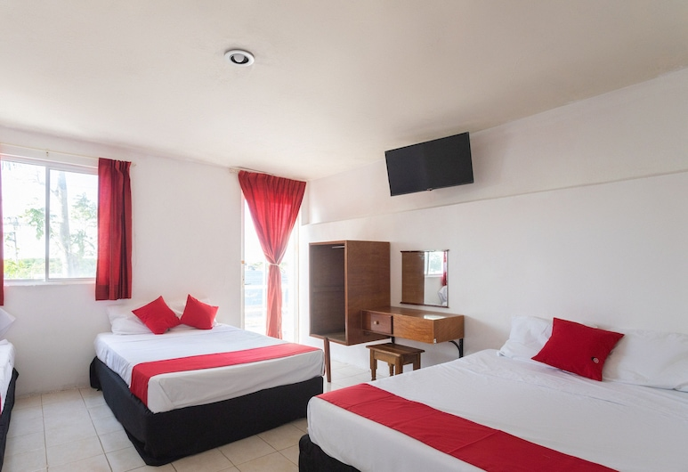 Hotel Los Cedros Campeche, Campeche, Standardní třílůžkový pokoj, Pokoj