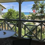 Standarta divvietīgs numurs, 1 divguļamā gulta, skats uz okeānu - Balkons