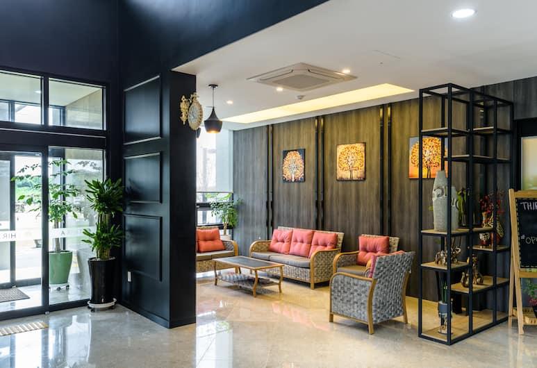 Thira Hotel, Seogwipo, Poilsio zona vestibiulyje