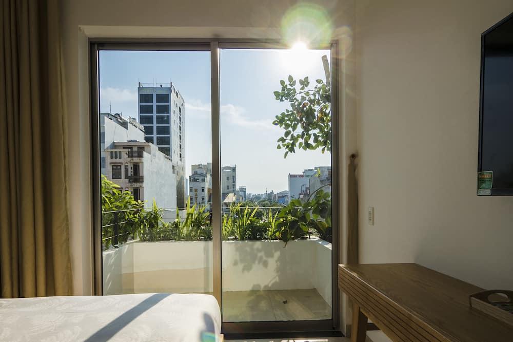 Leilighet – executive, 1 queensize-seng, balkong, utsikt mot byen - Balkong
