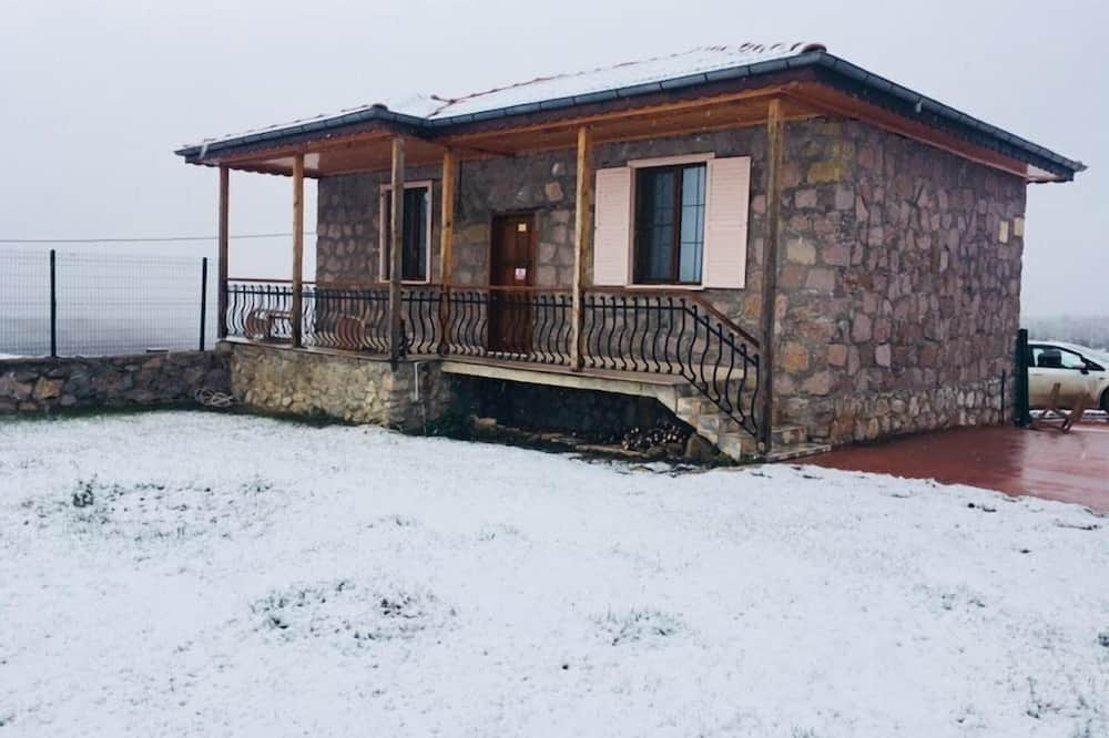 익스클루시브 하우스, 더블침대 1개 및 소파베드, 간이주방, 마당 전망 - 객실