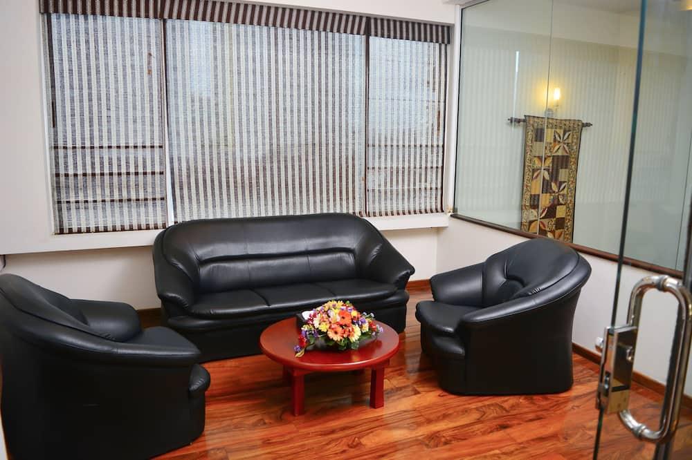 Deluxe Duplex, 4 Bedrooms, City View - Living Area