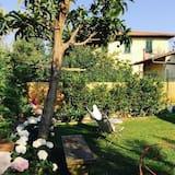 Dvojlôžková izba, výhľad na záhradu - Terasa