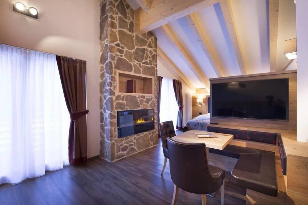 Suite, Sauna - Living Area