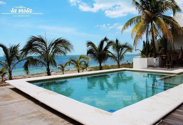 La Vista San Lorenzo Suites, Campeche, Pool