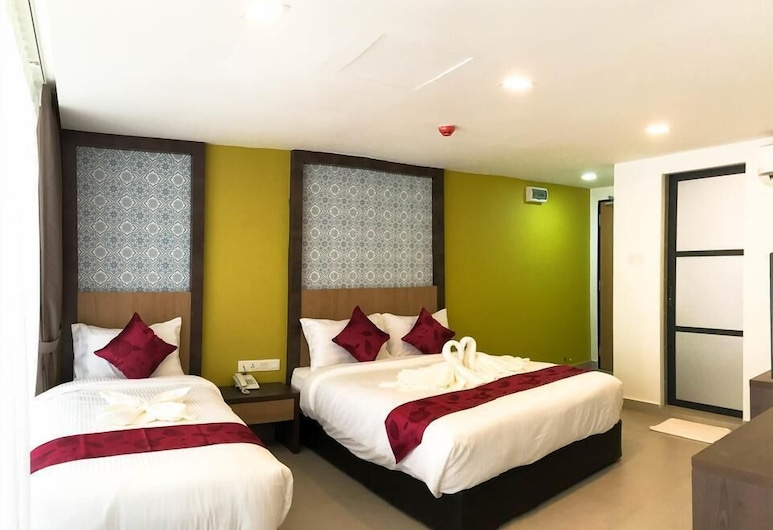 Check In Hotel, Kuala Lumpur, Kamar Triple, Kamar Tamu