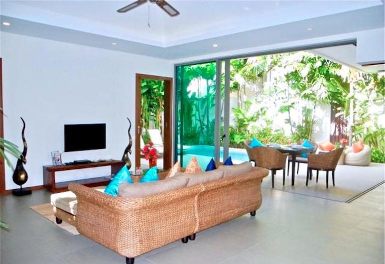 Ka Villa : Beautiful 2 Bedrooms Property, Rawai, Villa, 2 Bedrooms, Poolside, Living Area