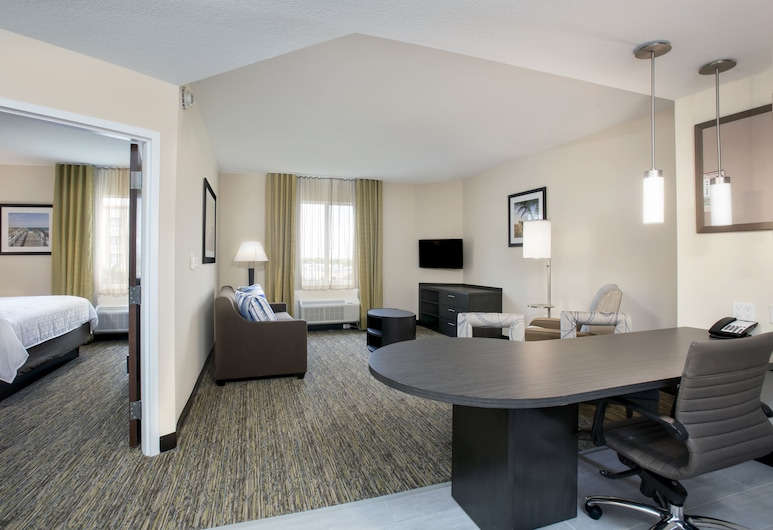 Candlewood Suites Miami Exec Airport - Kendall, Miami, Suite, 1 Quarto (1 King Bed), Quarto