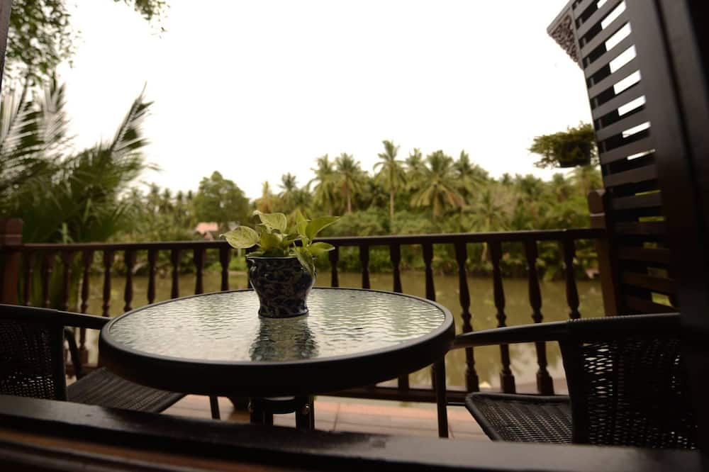 Standard Double Room with River View - Balkón