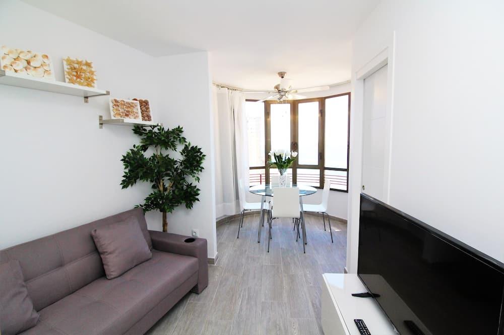 Apartment, 1 Bedroom, Sea View - Living Area