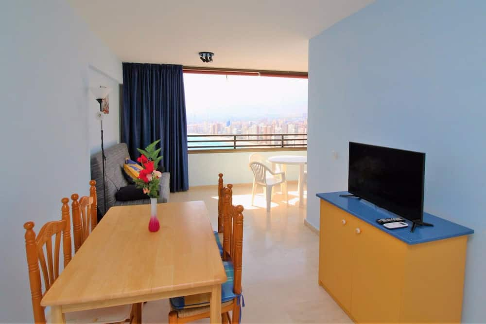 Lejlighed - 1 soveværelse - terrasse - havudsigt - Spisning på værelset