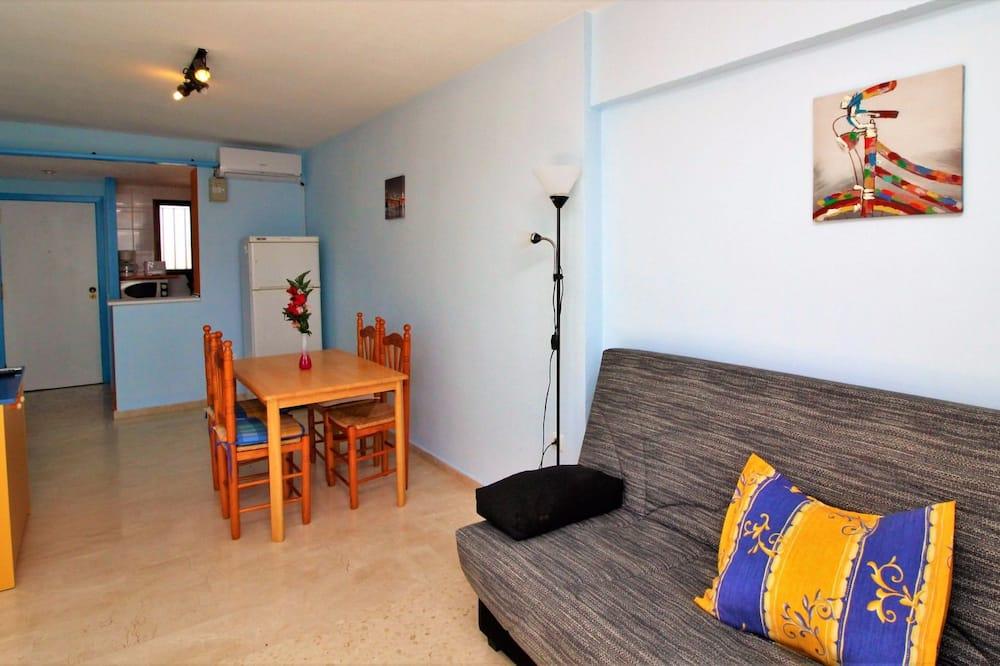 Lejlighed - 1 soveværelse - terrasse - havudsigt - Opholdsområde