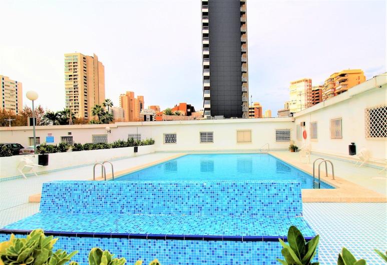 Apartamento Ducado 10J, Бенидорм, Открытый бассейн