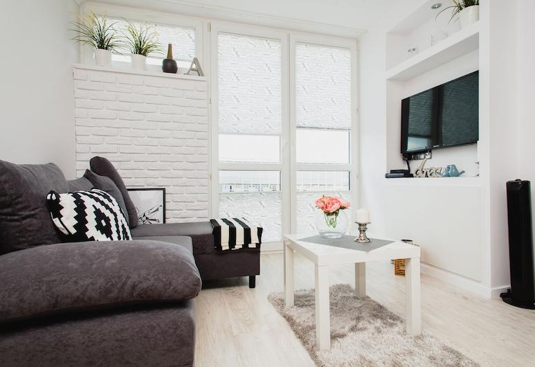 ShortStayPoland Chłodna (B44), Varšava, Apartmán typu Classic, Obývací pokoj