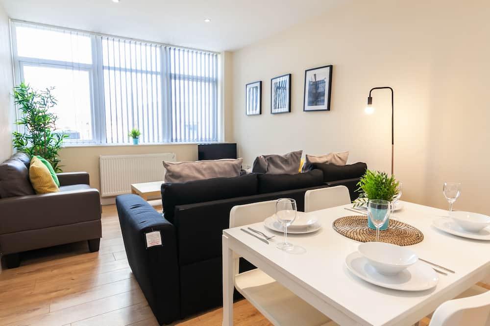 Basic-Apartment, 1 Schlafzimmer, Nichtraucher - Wohnbereich