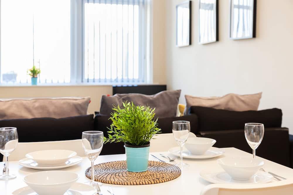 Apartment, 1 Schlafzimmer, Nichtraucher, Küche - Essbereich im Zimmer