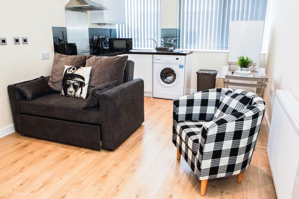 Apartment, 1 Schlafzimmer, Nichtraucher, Küche - Wohnbereich