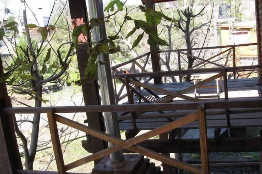 Standard Cabin, Kitchen, Garden View (4 people) - Balcony