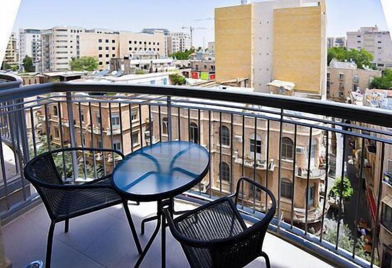 Yafo 35 Apartments by IndigInn, Yerusalem, Balkon