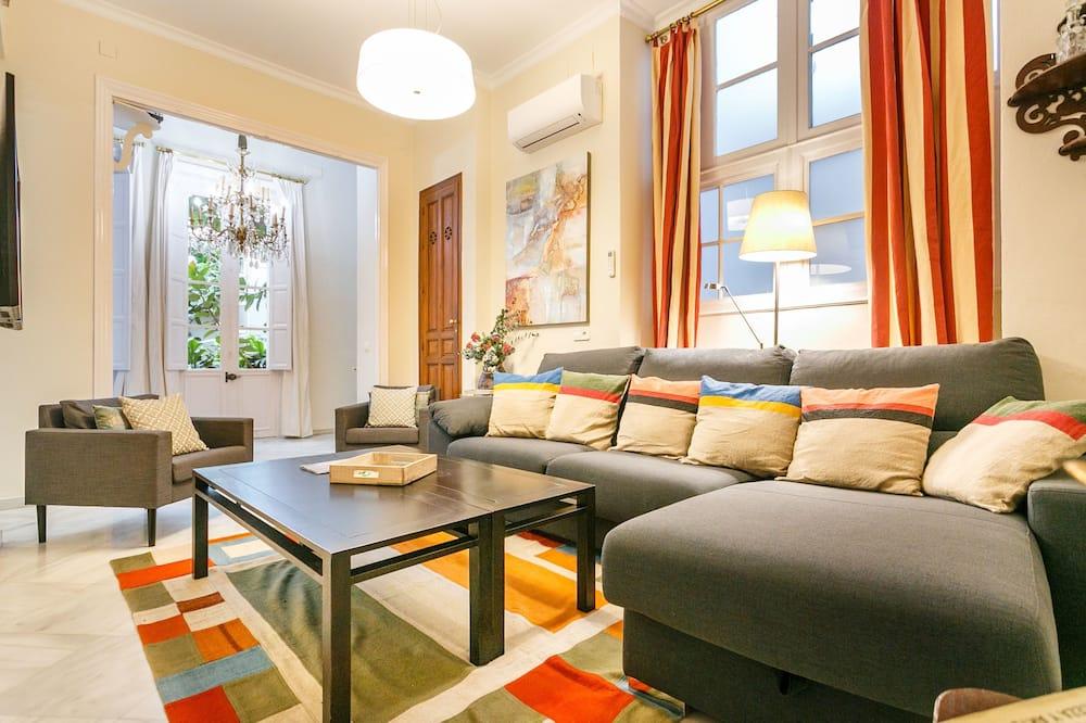 Luxe appartement, 3 slaapkamers - Woonruimte