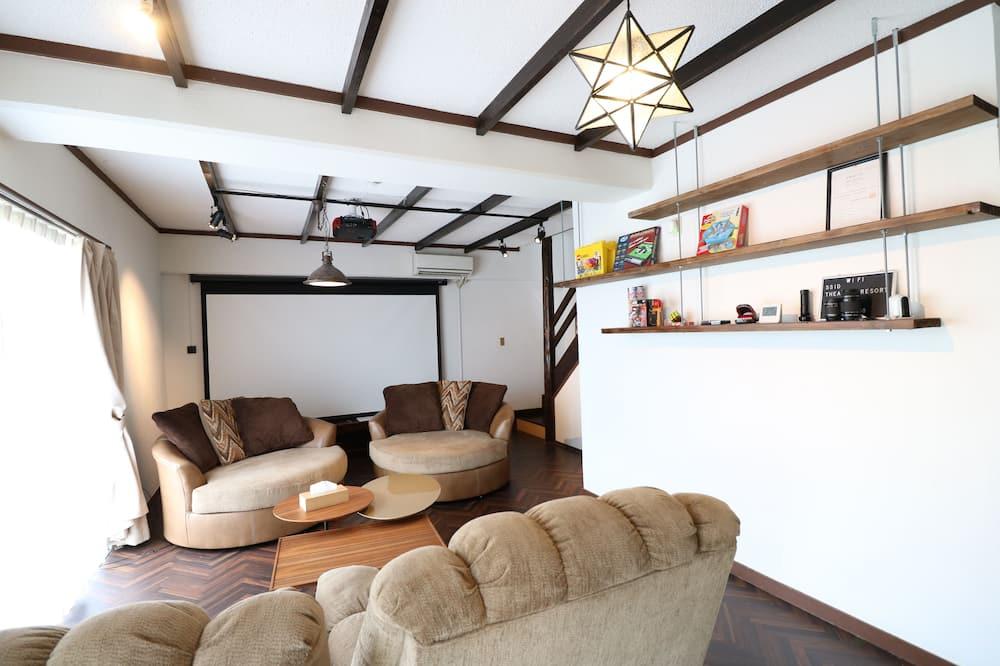 Casa (Private Vacation Home) - Área de Estar