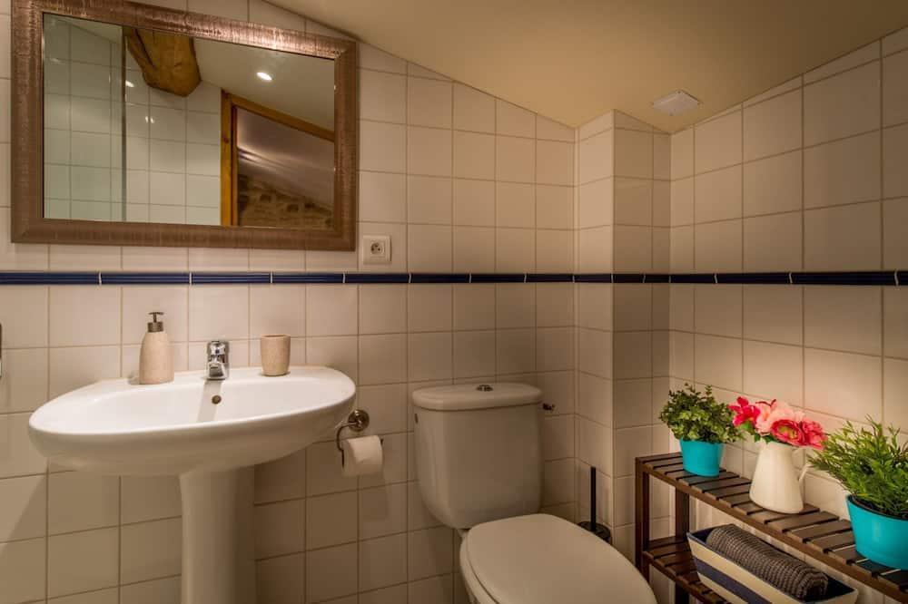 Luxe cottage, privébadkamer (Gîte 3 Bedrooms) - Badkamer