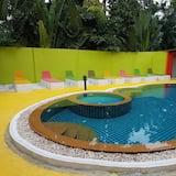 Bar ved poolen