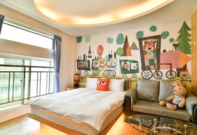 Kaohsiung Ramble Hotel, Kaohsiung, Standard Double Room, City View (Story), Guest Room