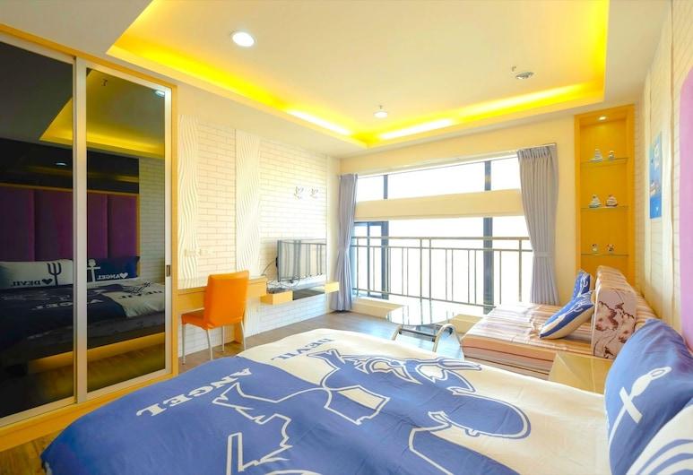 Kaohsiung Ramble Hotel, Kaohsiung, Pokój dwuosobowy typu Classic (Guam), Pokój