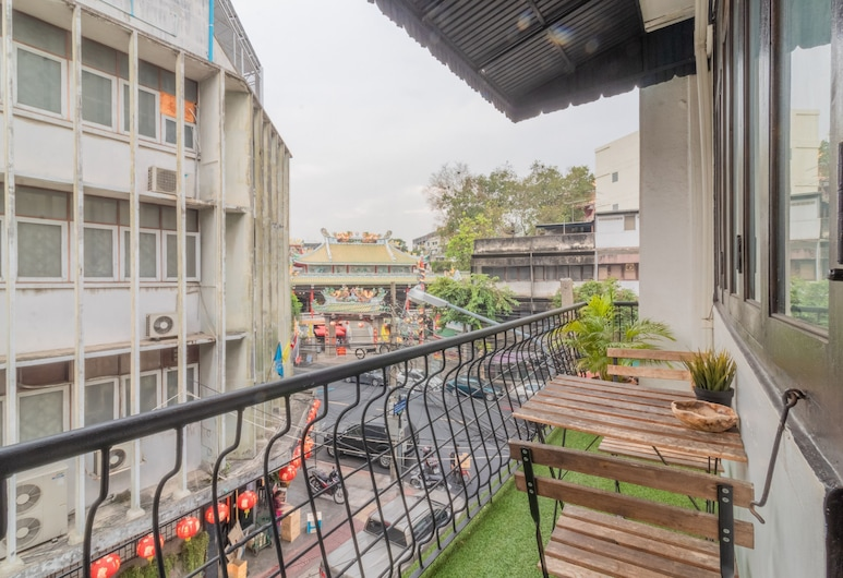ASA ホステル, バンコク, Double Bed Private Room, バルコニー