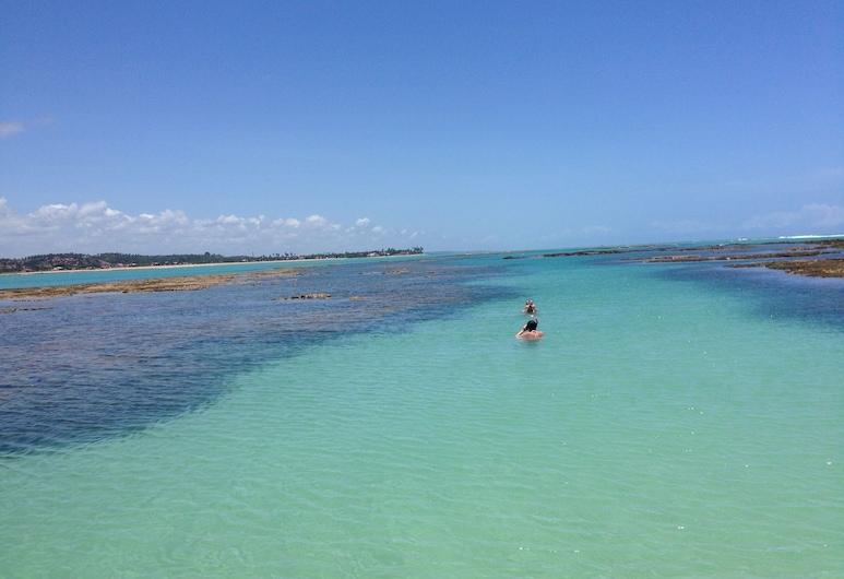 ポウサダ アルコ イリス, Barra de Santo Antonio, ビーチ