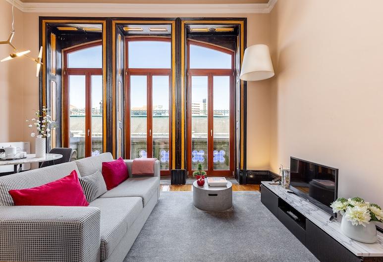 Your Opo Bolhão Apartments, Porto, Apartman, 1 spavaća soba, balkon ( 2 D ), Dnevni boravak