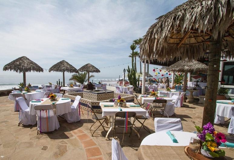 Poco Cielo Hotel, Plaža Rosarito, Restoran na otvorenom