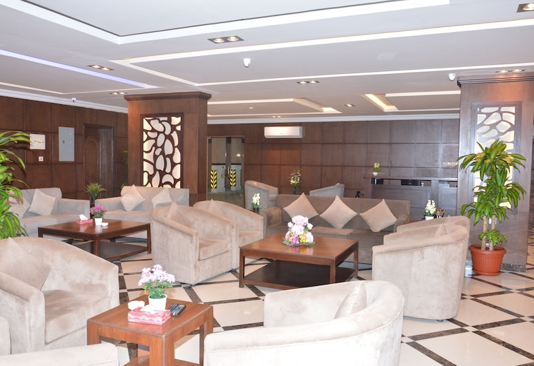 قصر جودي للأجنحة الفندقية, Al Khobar, منطقة الجلوس في الردهة