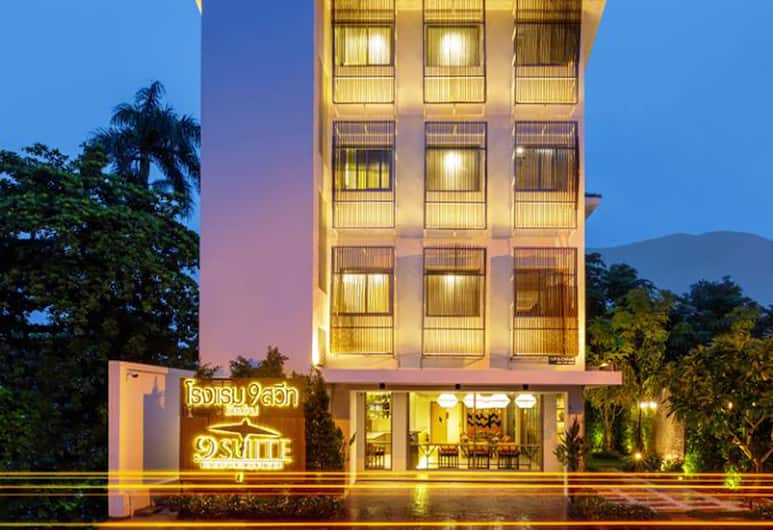 9 Suite Luxury Boutique Hotel, Chiang Mai, Hotel Front – Evening/Night