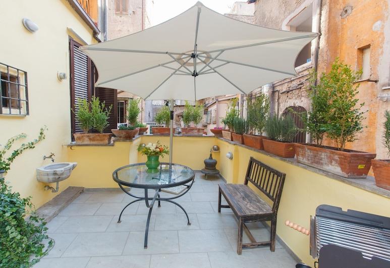 Ripa Terrace Trastevere Apartment, Roma, Comfort Apart Daire, 2 Yatak Odası, Teras, Şehir Manzaralı, Teras/Veranda