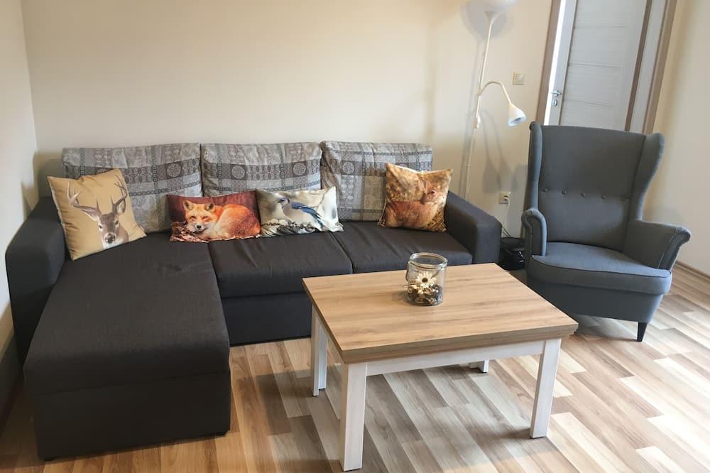 家庭公寓, 2 間臥室, 山景 - 客廳