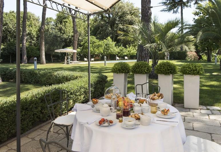 羅馬諾切塔別墅酒店, 羅馬, 室外用餐
