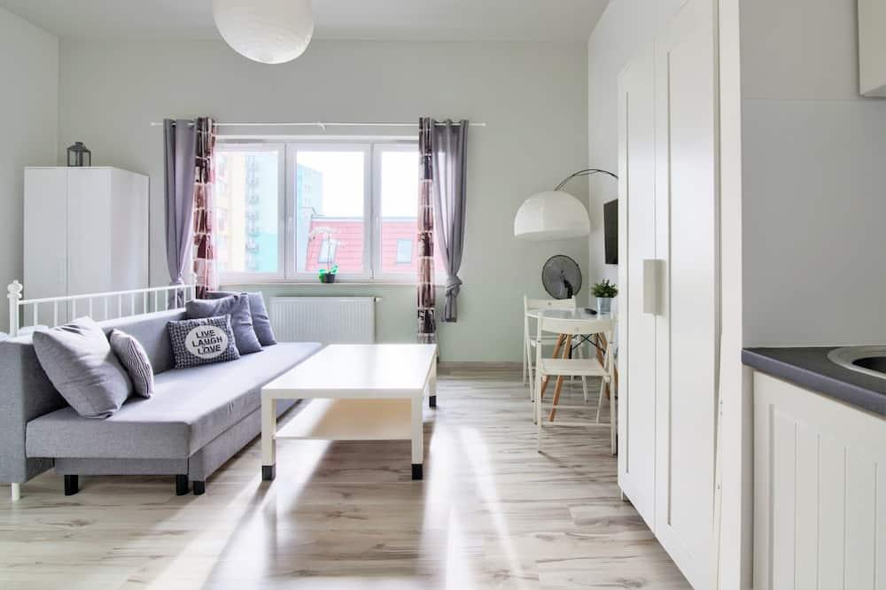Paaugstināta komforta dzīvokļnumurs - Dzīvojamā zona