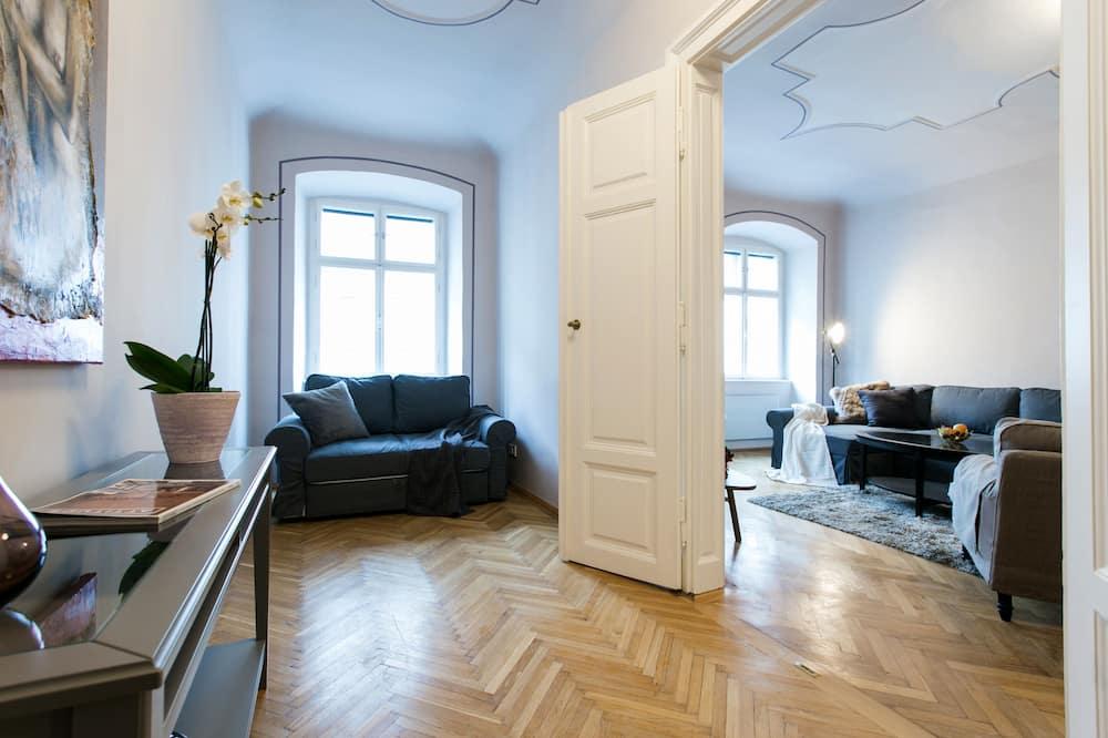 Huoneisto, 2 makuuhuonetta ( T3 ) - Oleskelualue
